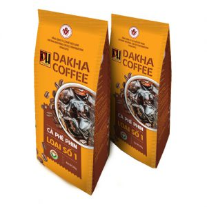 Cà phê bột Đắk Hà pha phin loại 1 (1 kg) vina cafe