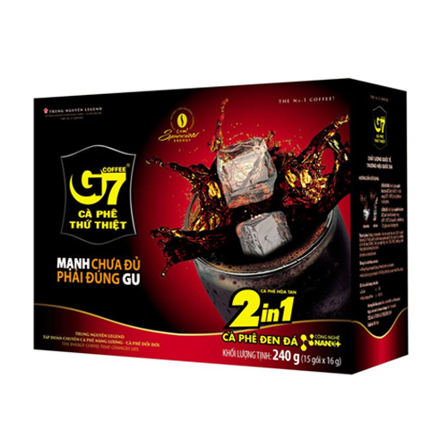 Cà phê hòa tan G7 2in1